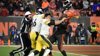 Myles Garrett Is Suspended For The Rest Of The Season For Hitting Mason Rudolph With A Helmet
