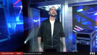 Everyone's Excited To Have CM Punk Back, Even If He's Only On WWE Backstage