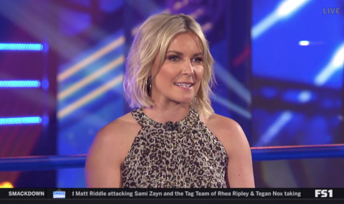 Renee Young Never Felt Comfortable On Commentary, Prefers Hosting WWE Backstage