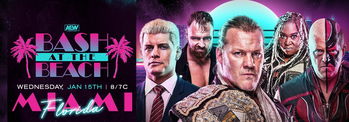 AEW Reviving WCW's Bash At The Beach For An Episode Of Dynamite