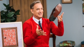 Tom Hanks Discovered He's Actually Related To Mister Rogers While Promoting 'A Beautiful Day In The Neighborhood'