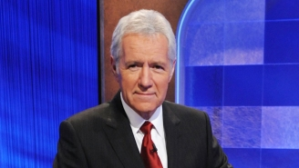 Alex Trebek Choked Up During 'Jeopardy!' And People Are Losing It, Too