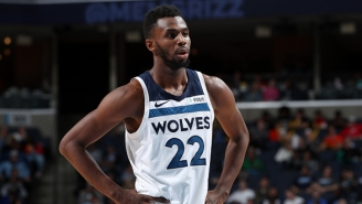 Andrew Wiggins And The Wolves Spoiled D'Angelo Russell's Career Night In An OT Win Over The Warriors