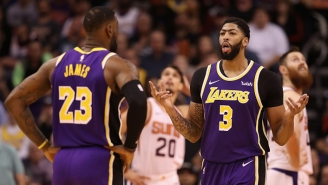 Anthony Davis Got Help From LeBron Preparing For His Return To New Orleans