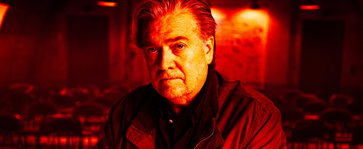 Errol Morris Tells Us Why He Titled His Steve Bannon Documentary 'American Dharma' Instead Of 'The Fog Of Bullshit'