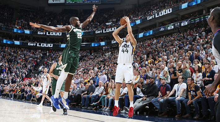 Bojan Bogdanovic Nailed A Buzzer-Beater To Lift The Jazz Over The Bucks