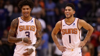 Devin Booker Scored 40 Points As The Suns Handed The Sixers Their First Loss Of The Season