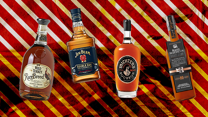 The Best Bottles Of Bourbon To Give As A Gift This Holiday Season
