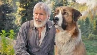 Harrison Ford And A Very Good (CGI) Boy Star In 'The Call Of The Wild' Trailer