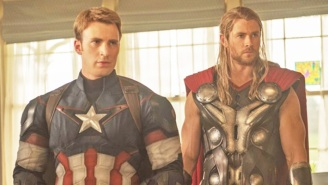 Chris Evans Suggests That He Hasn't Entirely Closed The Door On Playing Captain America Again Someday