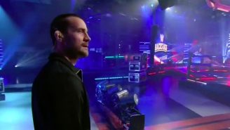CM Punk Returned To WWE, Sort Of, On FS1's WWE Backstage