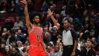 Coby White Set A Bulls Rookie Record With Seven Threes In A Quarter