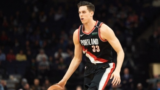 Portland's Zach Collins Will Be Out A Week Due To His Ankle Injury