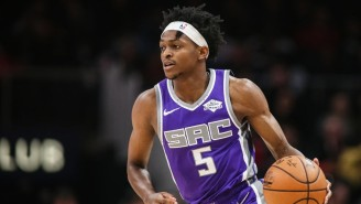 De'Aaron Fox Will Miss At Least 3-4 Weeks After Spraining His Ankle In Practice