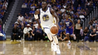 The NBA Rescinded The Technical Foul Draymond Green Got For Yelling At James Wiseman