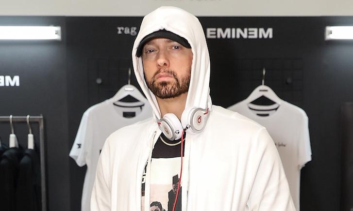 Eminem's Latest 'Slim Shady LP' 20th Anniversary Merch Capsule Includes A Little Lego Eminem
