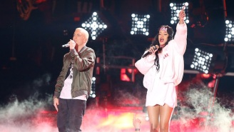 An Eminem Spokesperson Responds To The Rapper's Leaked Rihanna Assault Lyric