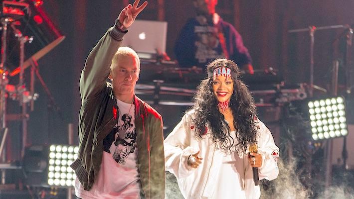 An Eminem Spokesperson Responds To The Rapper's Leaked Rihanna Assault Lyric