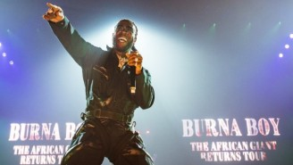 Burna Boy Lusts Over His Dream Girl Inside A Strip Club In His Colorful 'Omo' Video