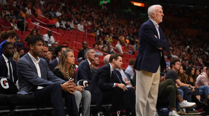 Gregg Popovich Once Took His Players To A Park In Sacramento To Chew Them Out