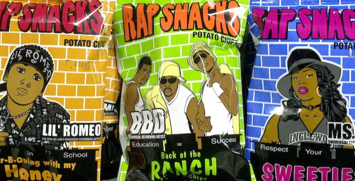 'Rap Snacks,' The Hip-Hop Themed Chip Brand, Will Be Sold In Walmarts Across America