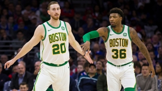 Report: The Celtics Tell Teams Gordon Hayward And Marcus Smart Are Not On The Trade Block