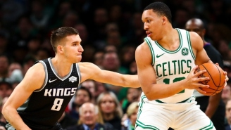 Celtics Rookie Grant Williams Gave 'About 200' Candles To Team Employees To Celebrate The Holidays