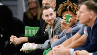 Gordon Hayward Thinks Gaming Helped Him Rehab His Broken Hand