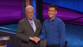 Alex Trebek Explained Why James Holzhauer Is The Favorite In The 'Jeopardy!' GOAT Tournament