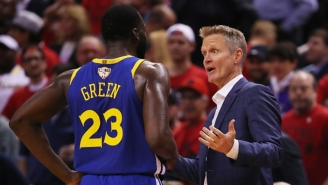 Steve Kerr Confirmed The Load Management Plan For Draymond Green This Season