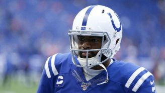 Colts QB Jacoby Brissett Suffered A Knee Injury Against The Steelers