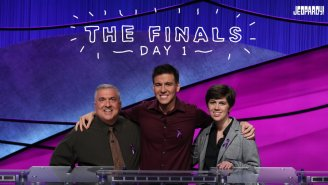 James Holzhauer Began His 'Jeopardy!' Rematch With Emma Boettcher In The Tournament Of Champions Final