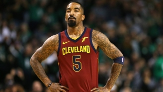 Report: The Lakers Are Finalizing A Deal With J.R. Smith