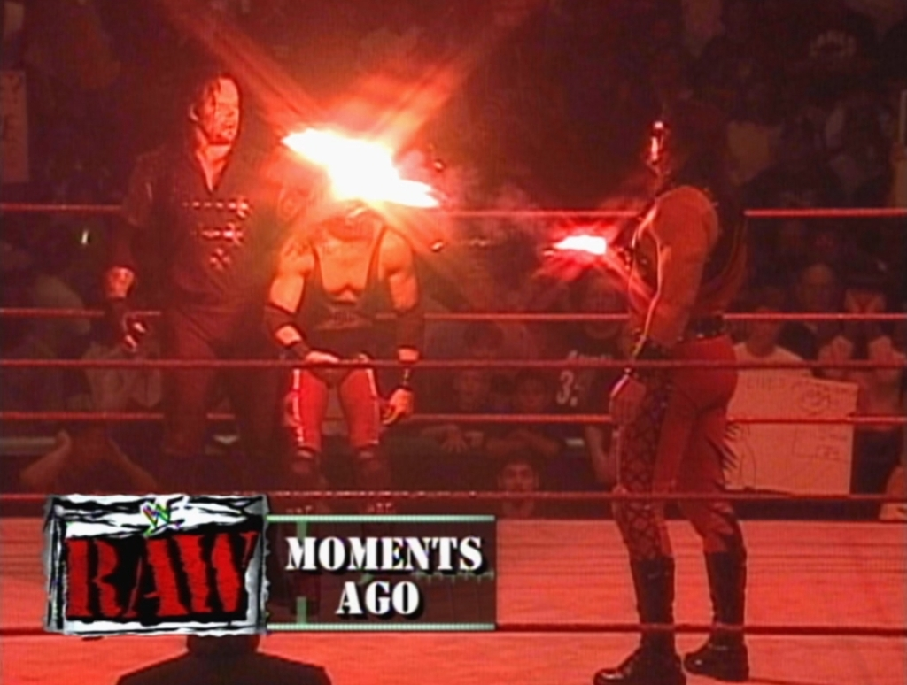 The Best And Worst Of WWF Raw Is War 11/9/98: Burn It Down