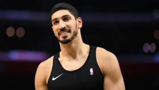 Enes Kanter Appeared On Stage In A Parody Musical Of 'The Office' In Boston