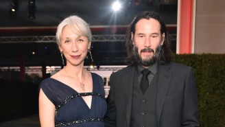 Helen Mirren Feels Very Flattered That People Are Comparing Her To Keanu Reeves' Girlfriend