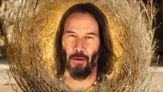Keanu Reeves Is A Sage Tumbleweed In 'The SpongeBob Movie: Sponge On The Run' Trailer
