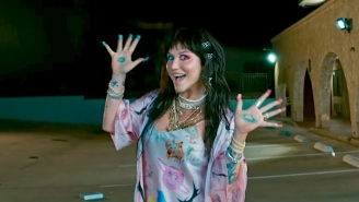 Kesha Quests For A Box Of Magic Cereal In A Strange Motel For Her 'My Own Dance' Video