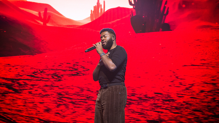 Khalid Shares A New Song He Made While On Tour, The Upbeat 'Up All Night'