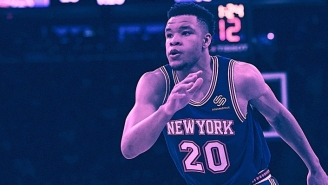 Kevin Knox Gives Us A Glimpse Inside The 'Great' Knicks Locker Room