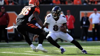 Lamar Jackson Torched The Bengals On A Spectacular 47-Yard Touchdown Run