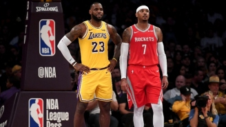 LeBron James And Other NBA Players Were Overjoyed About Carmelo Anthony Joining The Blazers