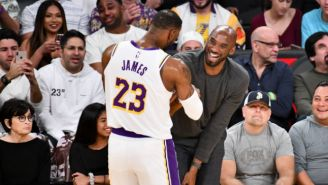 LeBron James Thought It Was 'Fantastic' To See Kobe Bryant At Lakers-Hawks