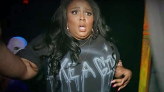Lizzo Gets Freaked Out In A Haunted House For 'The Ellen DeGeneres Show'