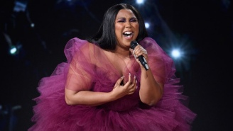 Lizzo Gives A Spirited Performance Of 'Jerome' And Mystifies Fans With Her Red Carpet Look At The AMAs