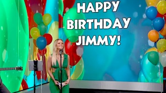 Maren Morris Wrote A Birthday Song For Jimmy Kimmel, But Didn't Put Much Effort Into It