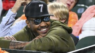 Carmelo Anthony '2000 Percent' Still Wants To Play In The NBA