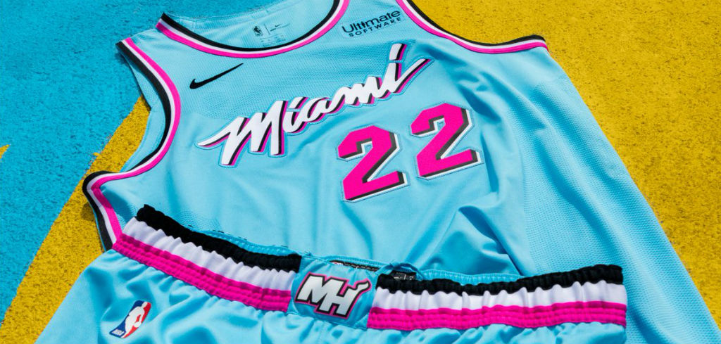 Heat Are Giving Babies Vice Onesies To Celebrate Their City Jerseys