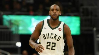 Khris Middleton Will Reportedly Miss 'Several Weeks' With A Left Leg Injury