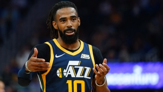 The Grizzlies Honored Mike Conley With An Emotional Tribute Video In His First Game Back In Memphis